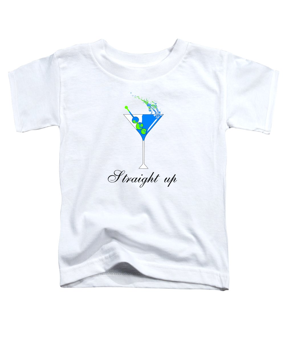 Straight Up - Toddler T-Shirt