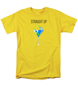 Straight Up - Men's T-Shirt  (Regular Fit)
