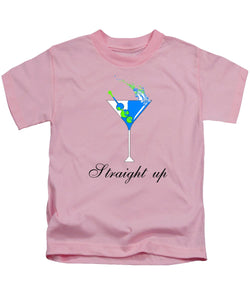 Straight Up - Kids T-Shirt