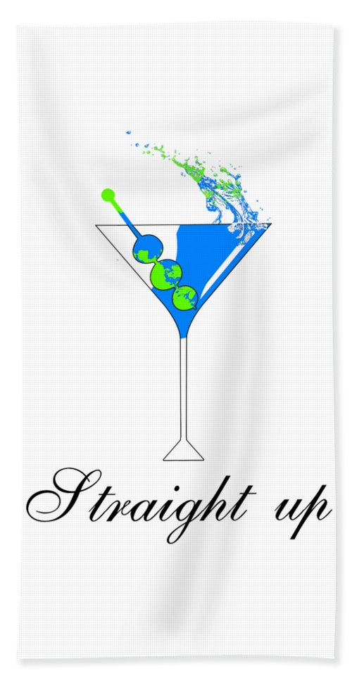 Straight Up - Beach Towel
