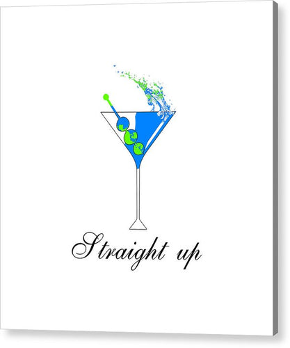 Straight Up - Acrylic Print