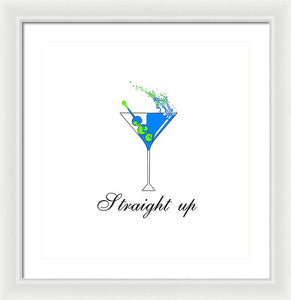 Straight Up - Framed Print