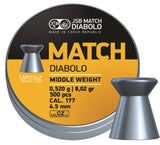 JSB  Yellow Match middle weight   .177 / 4.5 mm - ShootingTargets4Fun