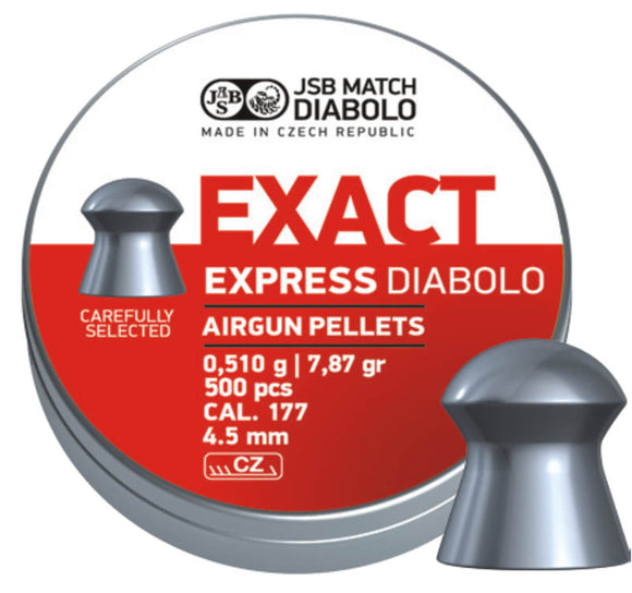 JSB Exact Express Diabolo  .177 / 4.5 mm - ShootingTargets4Fun