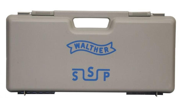 Walther Pistol case Silver/grey