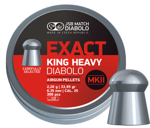 JSB  Exact King Heavy MKII .25 / 6.35 mm