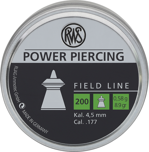 RWS Power Piercing  .177 / 4.5 mm