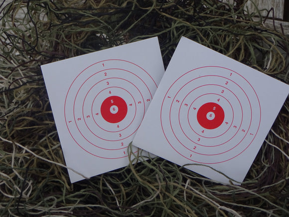 Paper Targets 10x10 (200) - ShootingTargets4Fun