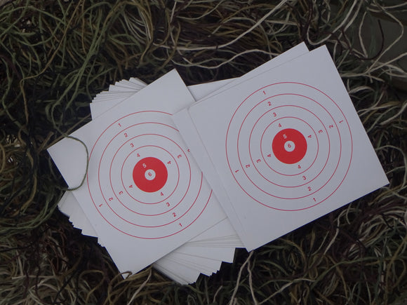 Paper Targets 10x10 (500) - ShootingTargets4Fun