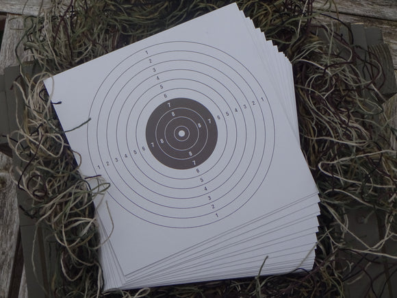 Paper Targets 17x17 (200) - ShootingTargets4Fun