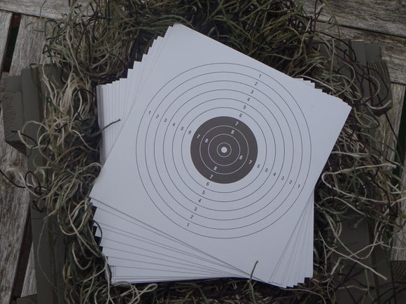 Paper Targets 17x17 (500) - ShootingTargets4Fun