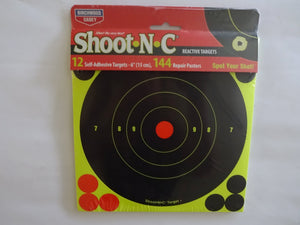 "Shoot N C Reactive Targets 6"" - ShootingTargets4Fun"