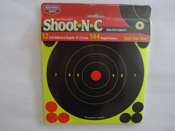 Shoot N C Reactive Targets 6