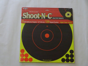"Shoot N C Reactive Targets 12"" ( temporarily out of stock ) - ShootingTargets4Fun"