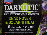 Splattering Target Darkotic - ShootingTargets4Fun