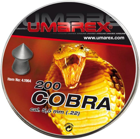 Umarex Cobra pointed  .22 / 5.5 mm - ShootingTargets4Fun