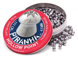 Crosman Piranha Hollow point  .177 / 4.5 mm - ShootingTargets4Fun