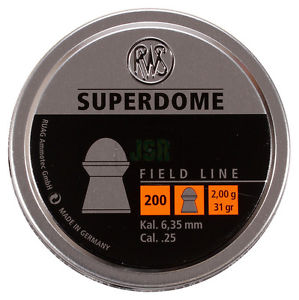 RWS Superdome  .25 / 6.35 mm - ShootingTargets4Fun