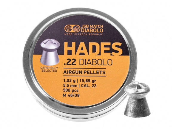 JSB Hades .22 / 5.5 mm  ( 250pcs/tin)