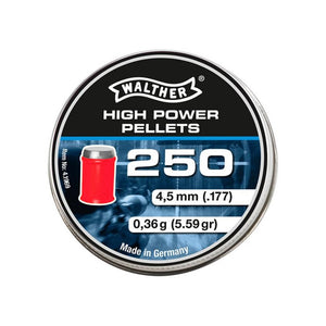 Walther High power .177 / 4.5 mm - ShootingTargets4Fun