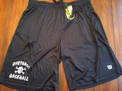 Black Wilson Training Shorts