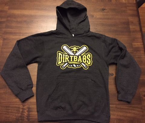 """Youth"" Charcoal Heather Hoodie"