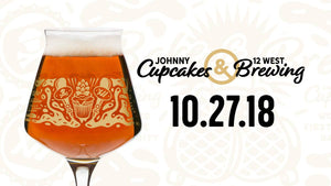Brewery Visit! 12 West Brewing X Johnny Cupcakes Collab Event!