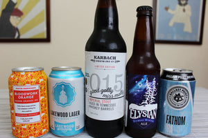 Beer Run 009 - Blood Orange IPA / Barrel Aged Stout and some IPA's!