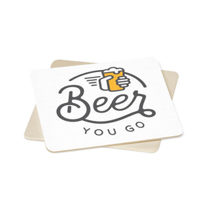 Square Paper Coaster Set - 6pcs