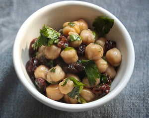 Garbanzos (Chickpeas), Raisins (Pasas) and Pique...Oh My!