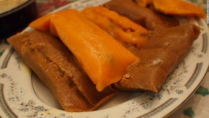 Puerto Rican style Pasteles