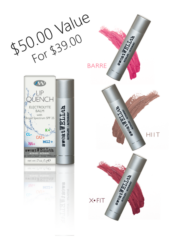 LIP QUENCH COLLECTION | HYDRATING BALM | SPF 25 | Original + Tints