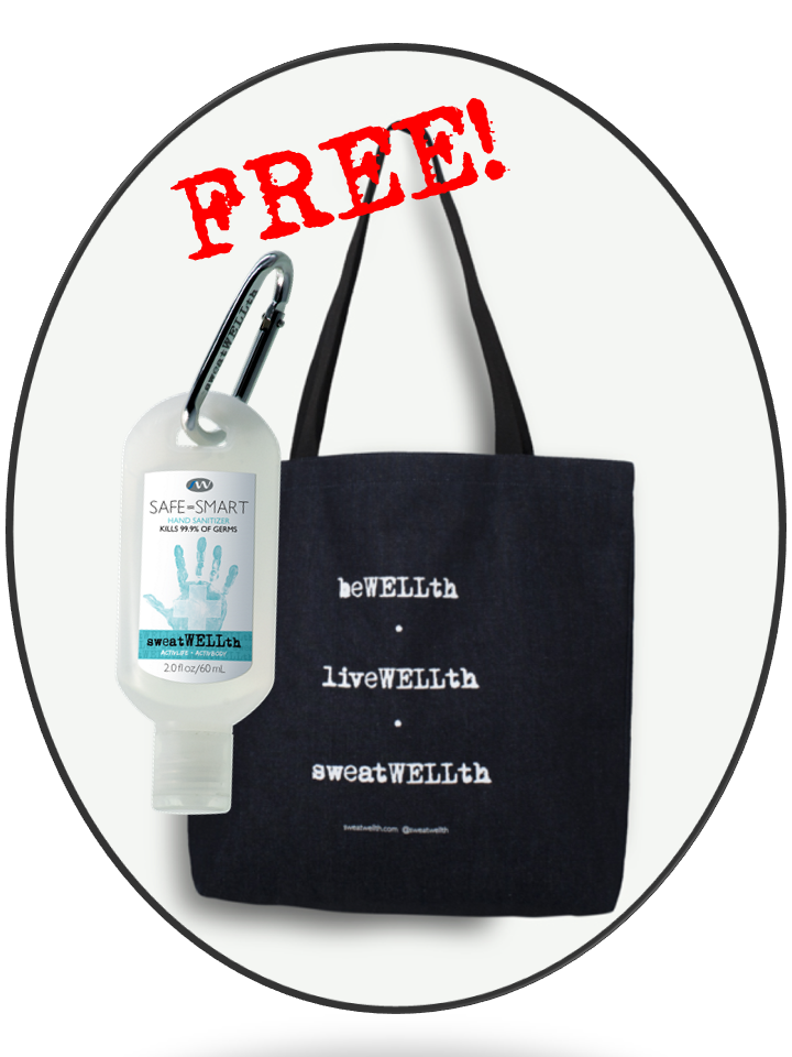 Gift Set - WELLth Tote & Hand Sanitizer