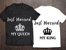 Just Married My Queen Short-Sleeve Unisex T-Shirt