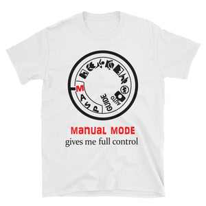Photography - Manual Mode Short-Sleeve Unisex T-Shirt