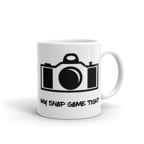 My Snap Game Tight coffee mug