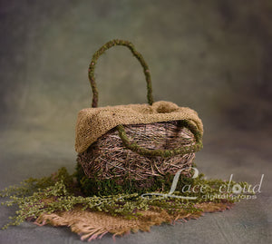 Digital backdrop basket