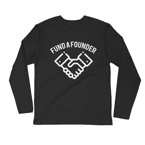 Fund A Founder - 0.1 Limited Edition Long Sleeve Mens T Shirt