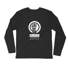 Black Founders Matter - 0.1 Limited Edition Men's Long Sleeve Fitted Crew