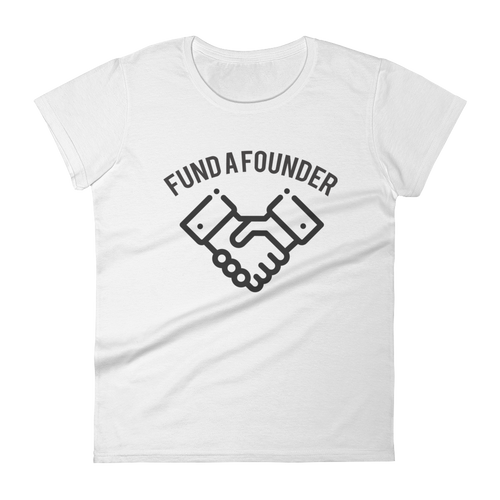 Fund A Founder - 0.1 Limited Edition Ladies T Shirt - Light