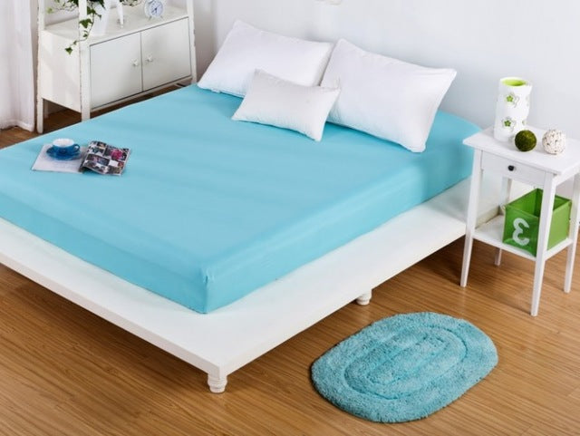 Polyester Cotton Single Bedsheet