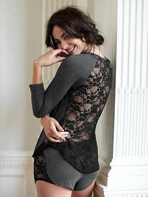 Lace Blouse  + Sexy Short