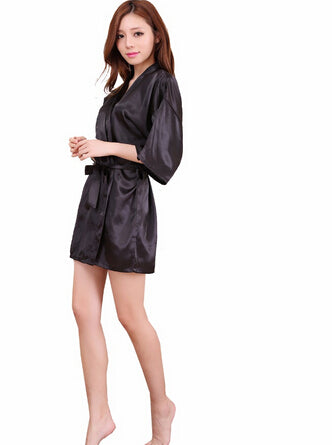 Sexy Satin Night Robe