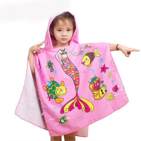 Easy Bibulous Towel For Children