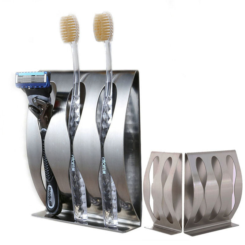 Stainless Steel Self-Adhesive Toothbrush