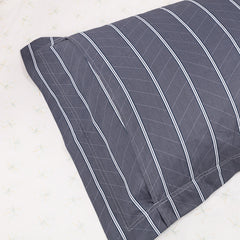 Modern Cotton Striped Pillow Case