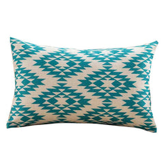 Ouneed Geometric Printing Pillow Case