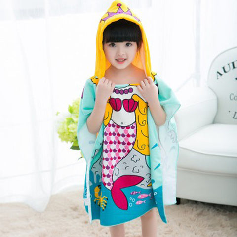 Children Hooded Bath Towel