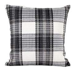 Lattice  Decor Pillow Case Cushion Cover  Black