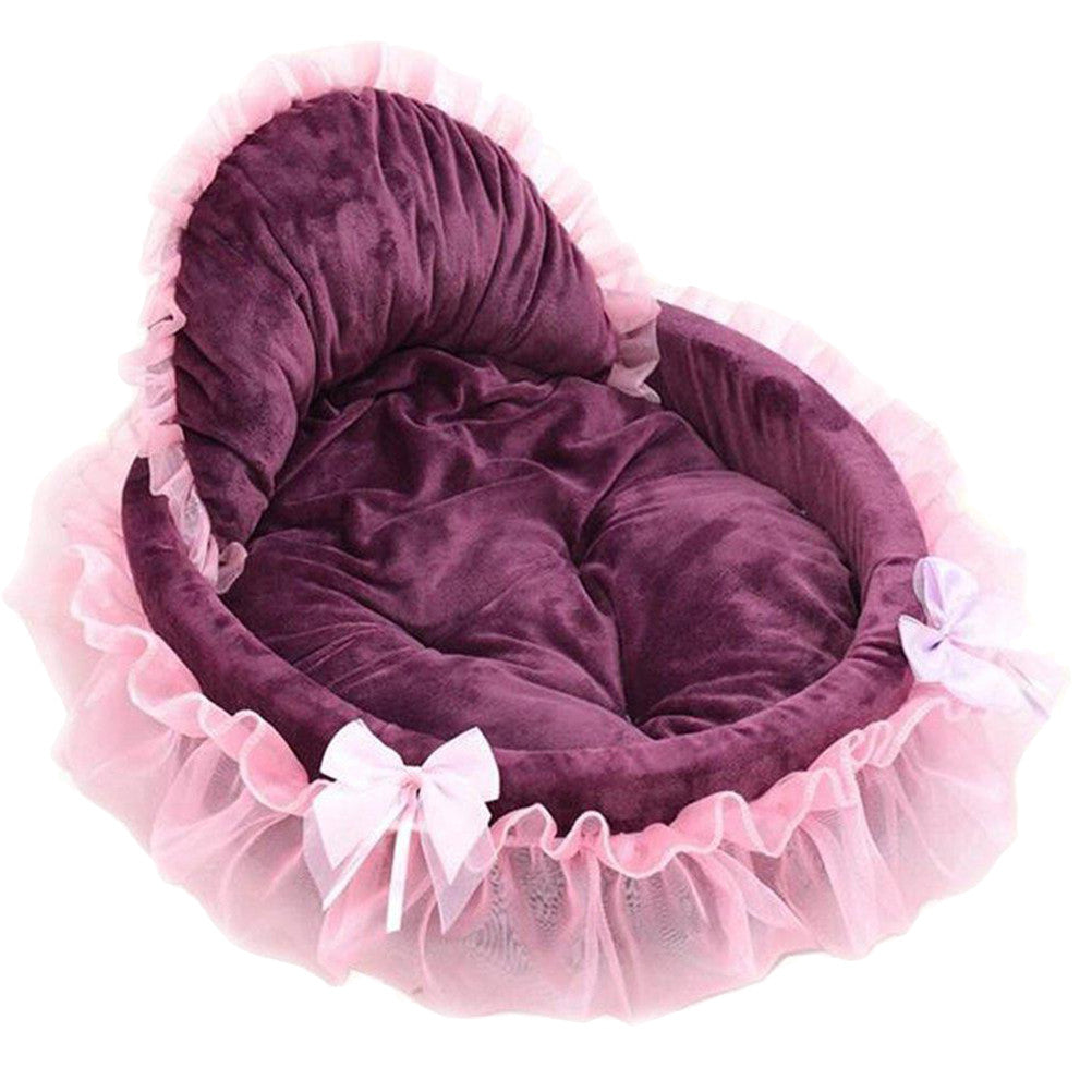 Cute Lace Pet Beds Size Small
